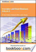 Innovation and Small Business   Volume 2