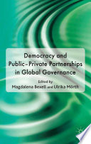 democracy and public private partnerships in global governance