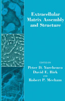 Extracellular Matrix Assembly And Structure book