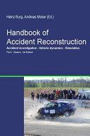 Handbook of Accident Reconstruction