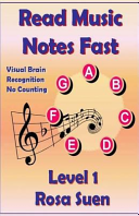 download ebook read music notes fast level 1 - visual brain recognition, no counting pdf epub