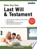 Make Your Own Last Will and Testament