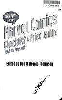 Comics buyer s guide Marvel comics