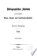 Jahrbuch f  r den Deutschen Buch Kunst und Landkarten Handel