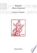 Esercizi Musica e Spettacolo 20  nuova serie 11  2006 2007