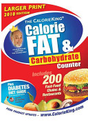 The Calorie King Calorie  Fat   Carbohydrate Counter 2010