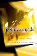 Book Gothic Canada