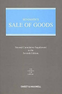 Benjamin s Sale of Goods