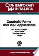 Quadratic Forms And Their Applications