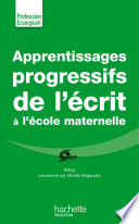 Apprentissages progressifs de l   crit    la maternelle