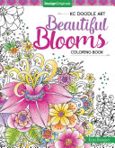 Kc Doodle Art Beautiful Blooms Coloring Book