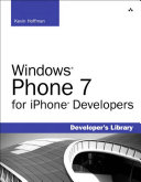Windows Phone 7 for iPhone Developers