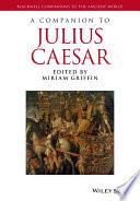 A Companion to Julius Caesar