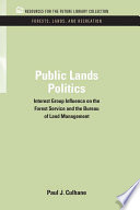 Public Lands Politics