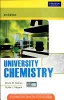 University Chemistry 4 E