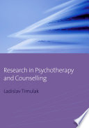 Research in Psychotherapy and Counselling