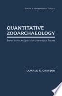 Quantitative Zooarchaeology