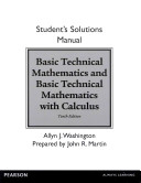 Basic Technical Mathematics and Basic Technical Mathematics with Calculus