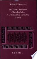 The Summa Perfectionis of Pseudo Geber