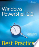 Windows PowerShell 2 0 Best Practices