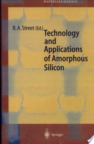 Technology and Applications of Amorphous Silicon - ISBN:9783540657149