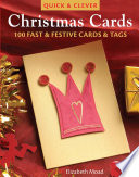 Quick   clever Christmas cards   100 fast   festive cards   tags