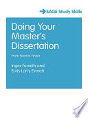 Doing Your Master s Dissertation