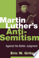 Martin Luther S Anti Semitism