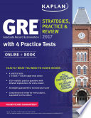 GRE 2017 Strategies, Practice & Review with 4 Practice Tests