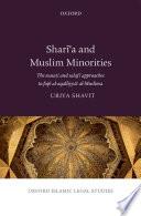 Shari a and Muslim Minorities