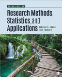 Student Study Guide With Ibm Spss Workbook For Research Methods Statistics And Applications