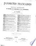 Pandectes françaises