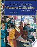 Western Civilization  Volume C  Since 1789