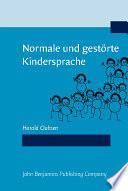 Normale und gest  rte Kindersprache
