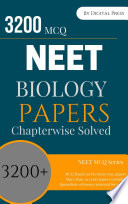 Biology Previous Year Mcqs Solved Chapterwise For Neet Exam Pdf Format