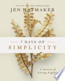 7 Days of Simplicity Book PDF