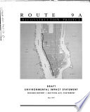 Route 9A Reconstruction Project, Battery Place To 59th St., New York County : ...