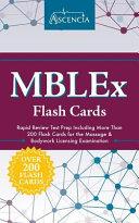 MBLEx Flash Cards