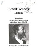 The Still technique manual
