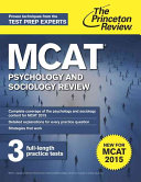 Princeton Review MCAT Subject Review Complete Set