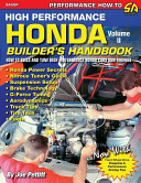 High Performance Honda Builder S Handbook