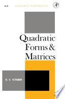 Quadratic Forms and Matrices