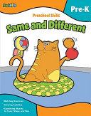 Preschool Skills Same And Different book