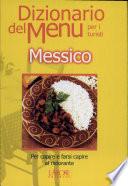 Dizionario del menu per i turisti  Messico