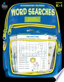 Word Searches  Grades K   1