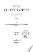 Deutsche Grafen-Haeuser der Gegenwart: L-Z