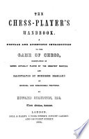 The Chess Player S Handbook Second Edition Revised