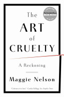The Art Of Cruelty : entertainment will shock society into a...