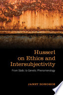 Husserl on Ethics and Intersubjectivity