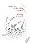 illustration du livre Le Ramdam des mots